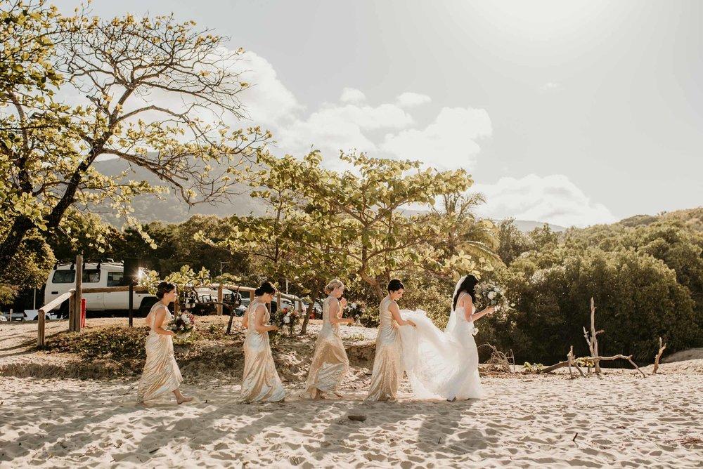 The Raw Photographer - Cairns Wedding Photographer - Beach Palm Cove Ceremony - Dress Irene Costa's Devine Bridal - Queensland-42.jpg
