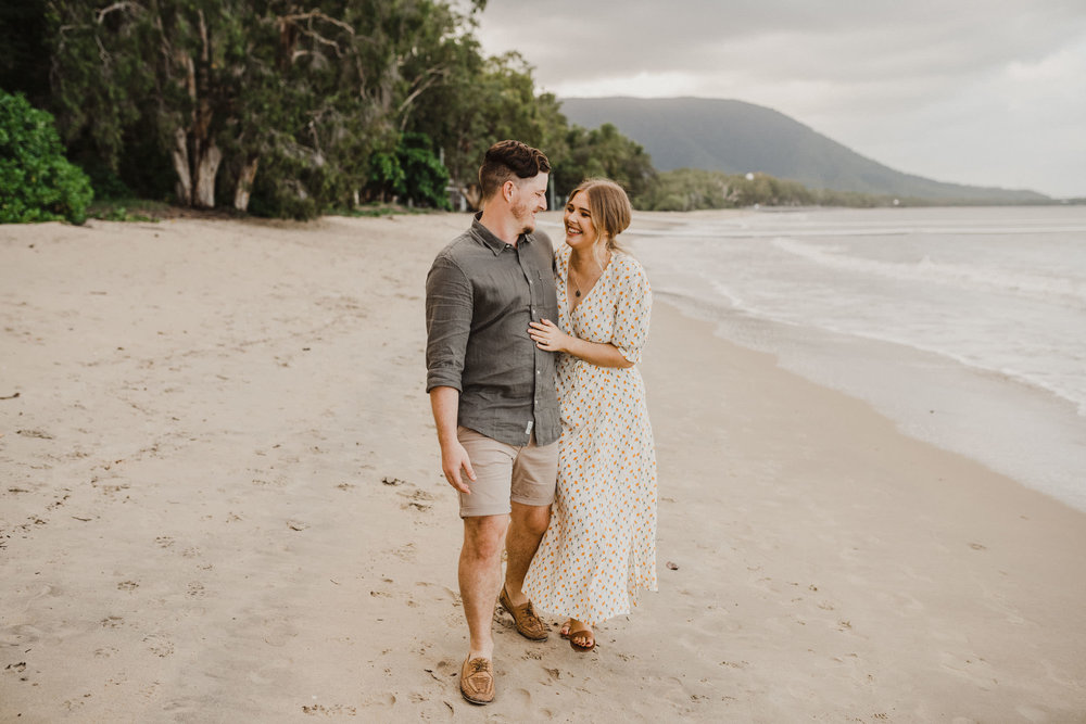 The Raw Photographer - Cairns Wedding Photographer - Beach Engagement Shoot - Candid Picnic-18.jpg
