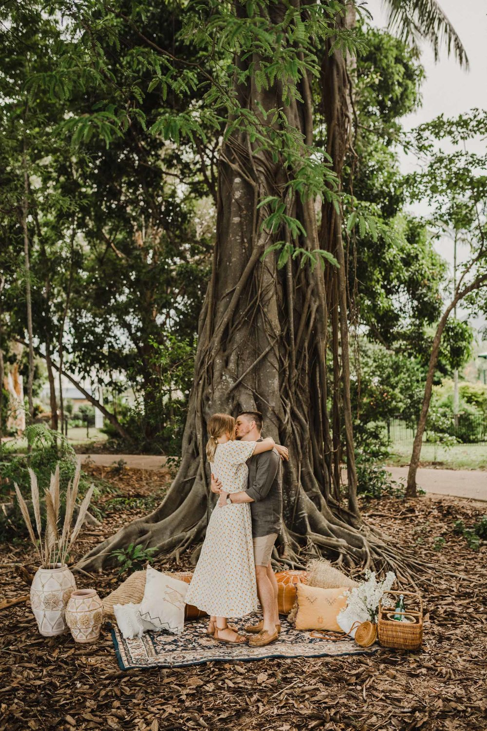 The Raw Photographer - Cairns Wedding Photographer - Beach Engagement Shoot - Candid Picnic-21.jpg