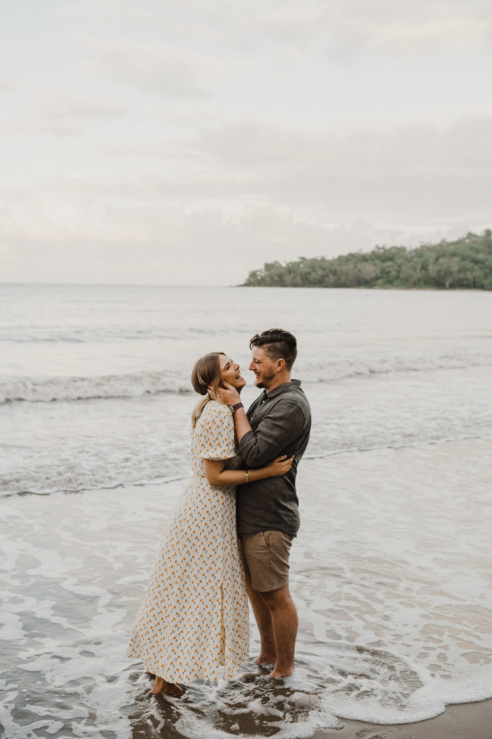 The Raw Photographer - Cairns Wedding Photographer - Beach Engagement Shoot - Candid Picnic-29.jpg