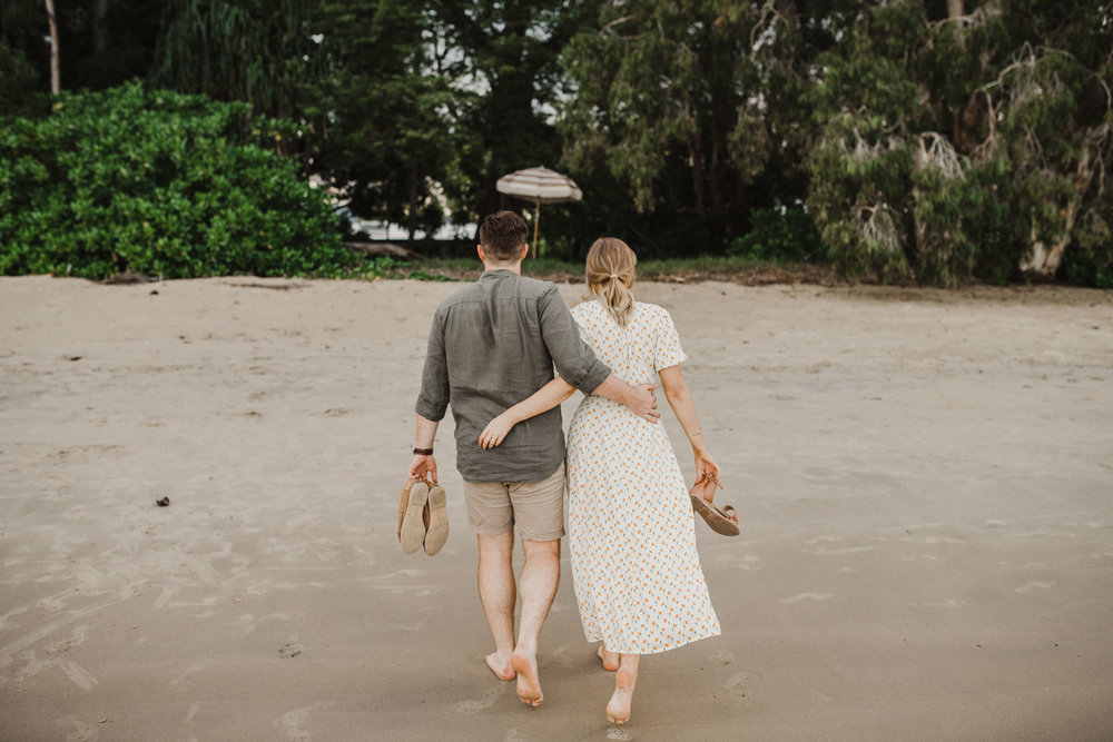 The Raw Photographer - Cairns Wedding Photographer - Beach Engagement Shoot - Candid Picnic-30.jpg