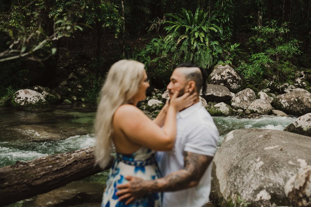 The Raw Photographer - Cairns Wedding Photographer - Rainforest engagement shoot location - Queensland Photography - candid nature-4.jpg