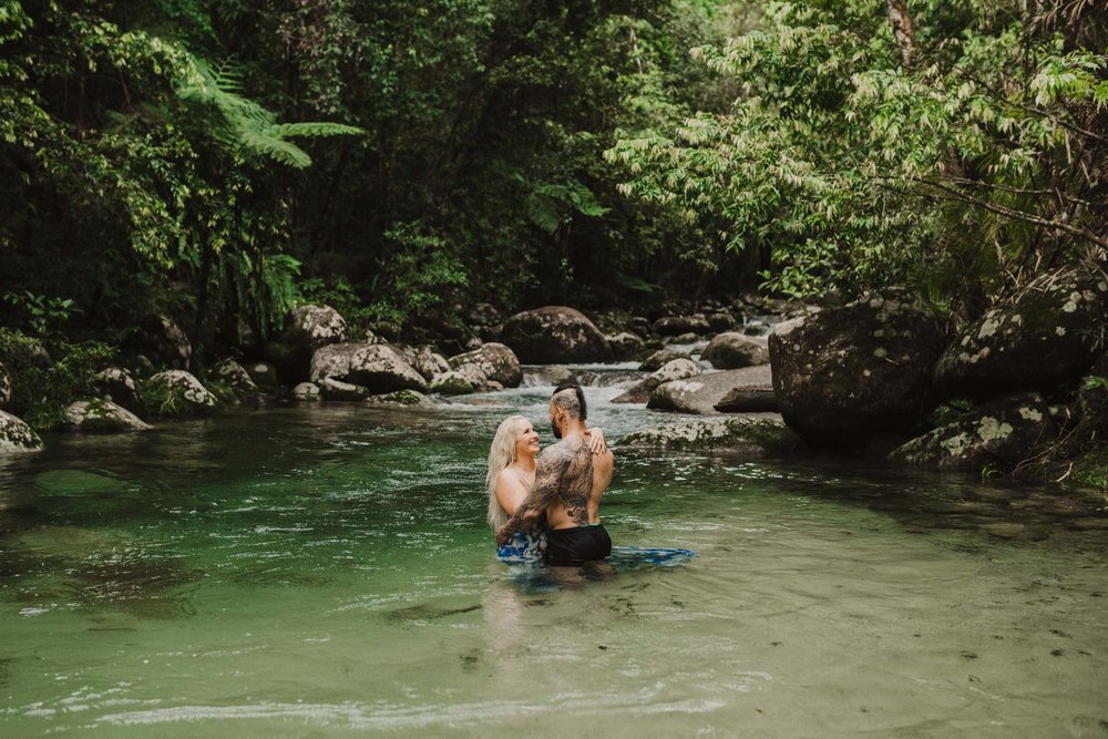 The Raw Photographer - Cairns Wedding Photographer - Rainforest engagement shoot location - Queensland Photography - candid nature-7.jpg