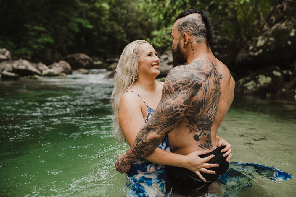 The Raw Photographer - Cairns Wedding Photographer - Rainforest engagement shoot location - Queensland Photography - candid nature-8.jpg