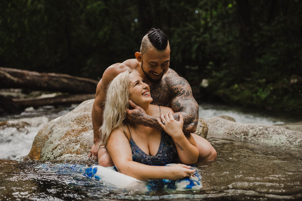The Raw Photographer - Cairns Wedding Photographer - Rainforest engagement shoot location - Queensland Photography - candid nature-12.jpg