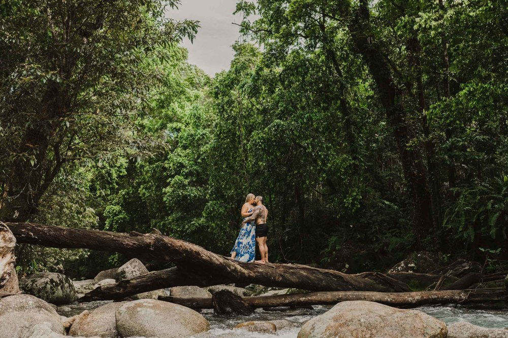 The Raw Photographer - Cairns Wedding Photographer - Rainforest engagement shoot location - Queensland Photography - candid nature-16.jpg