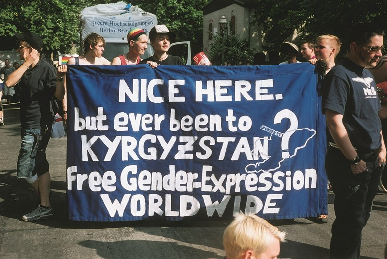 NICE HERE; but ever been to KYRGYZSTAN? Free Gender-Expression WORLDWIDE (2006)