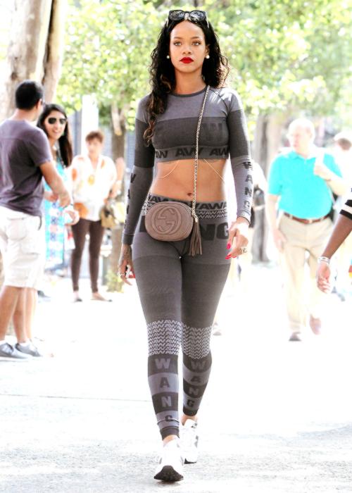 RihannaAlexanderWangHM