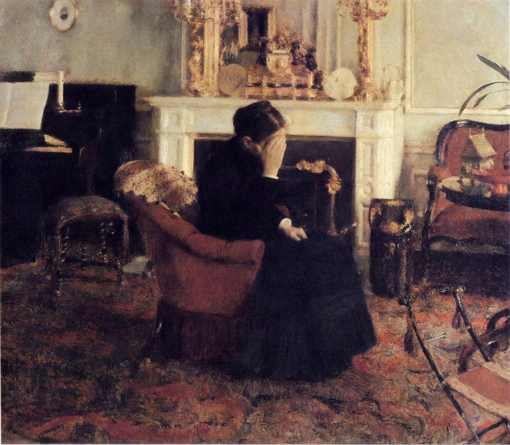 Khnopff_Fernand_Listening_to_Schumann