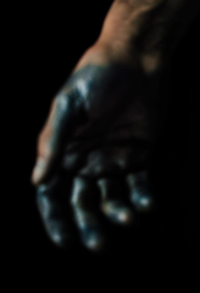 Nicolas Karakatsanis hand
