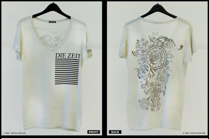 kenzo clock shirt