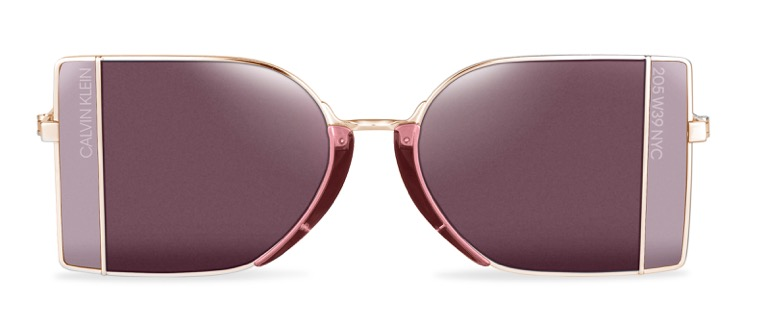 """d1786736748 ... the """"Calvin Klein-collection"""" seen in the campaign image on top) is the  CK8057S model. These rectangle-shaped shades with two-toned lenses are  inspired ..."""