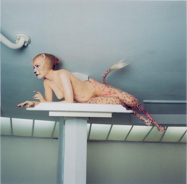 "Aimee Mullins in ""Cremaster 3"" by Matthew Barney"