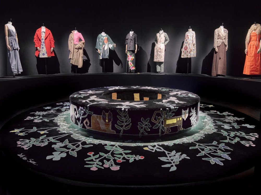 (c) Stany Dederen : Dirk Van Saene installation at MoMu