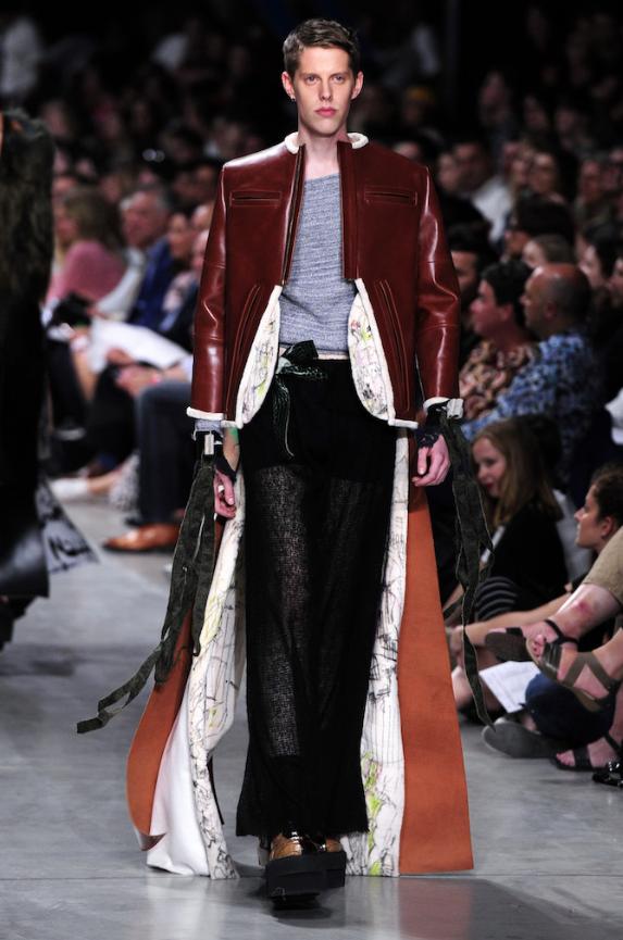 Predrag Petrovic  SHOW2016 (model: Kjell De Meersman). Image: Antwerp Fashion