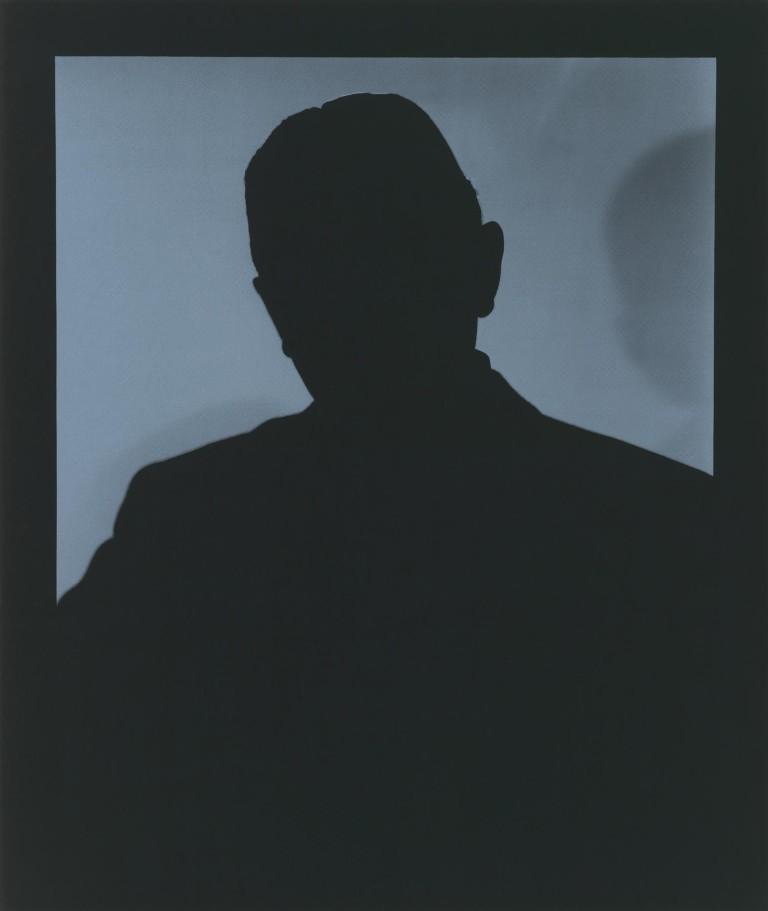 'Shadow 11' (2014) – screenprint similar to 'Father Sky'