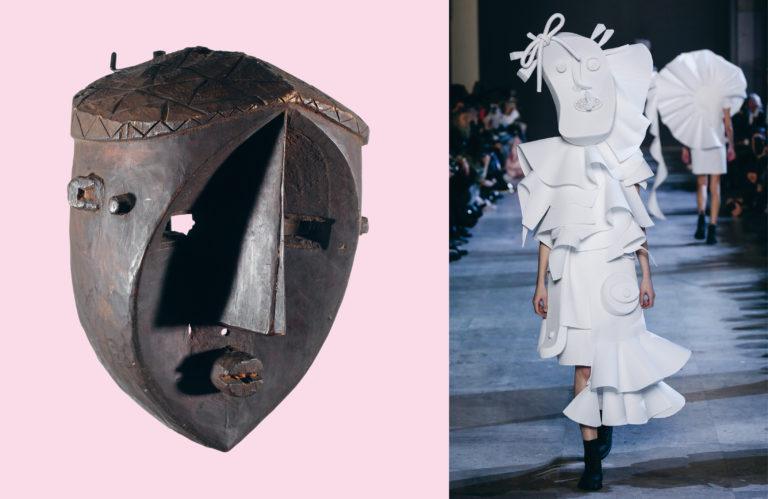 Face mask, Lwalwa – Viktor & Rolf SS16