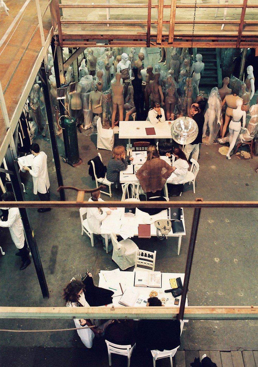 Maison Martin Margiela showroom (image: Anders Edström)