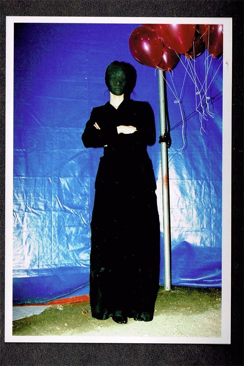 Backstage in 1995 (image: Anders Edström)