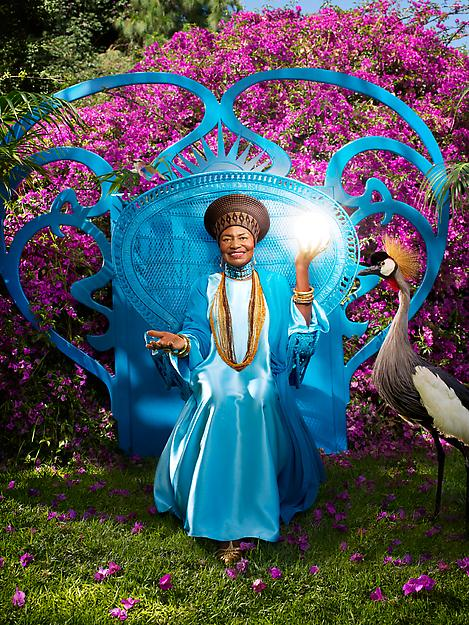 Miriam Makeba by David LaChapelle