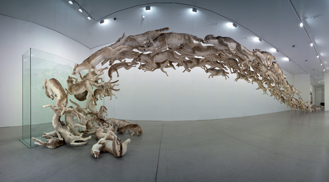 'Head On' - Cai Guo-Qiang (c) Hiro Ihara and Mathias Schormann