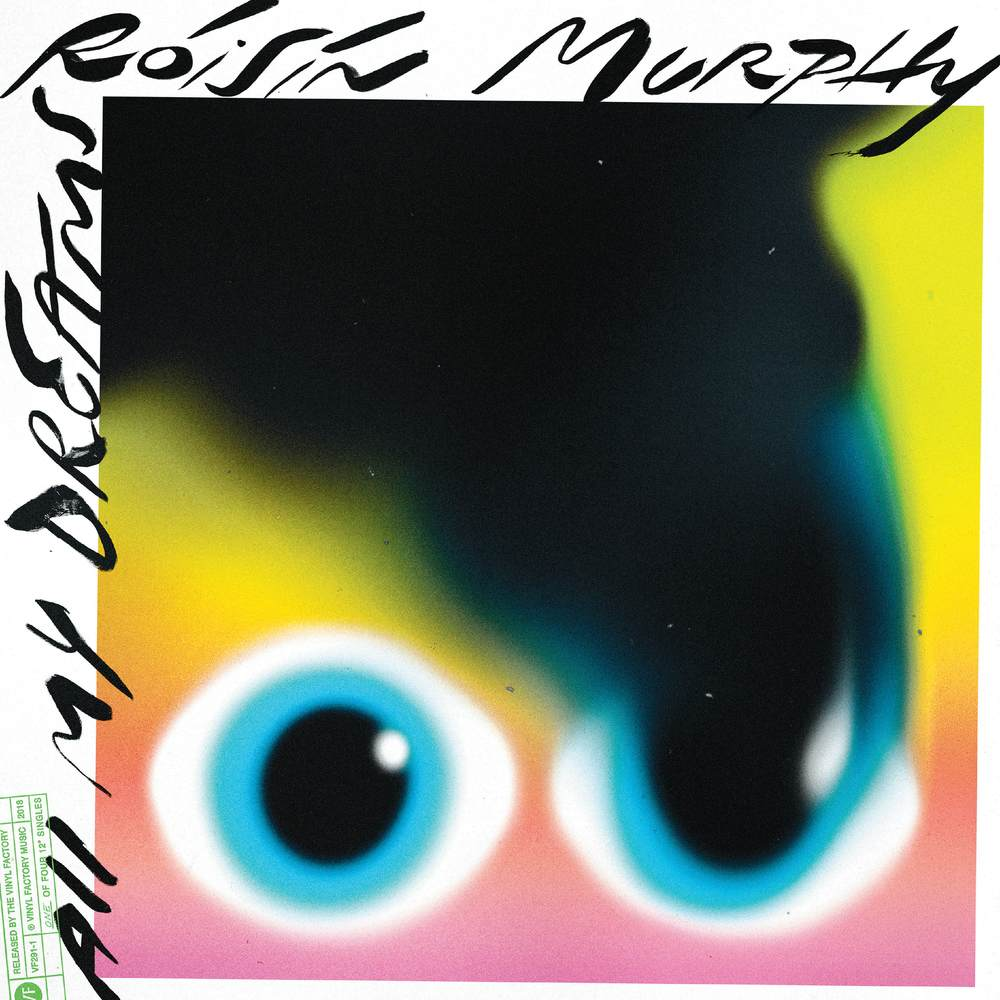 Róisín Murphy 'All My Dreams' 12'' - Graphic design by Bráulio Amado