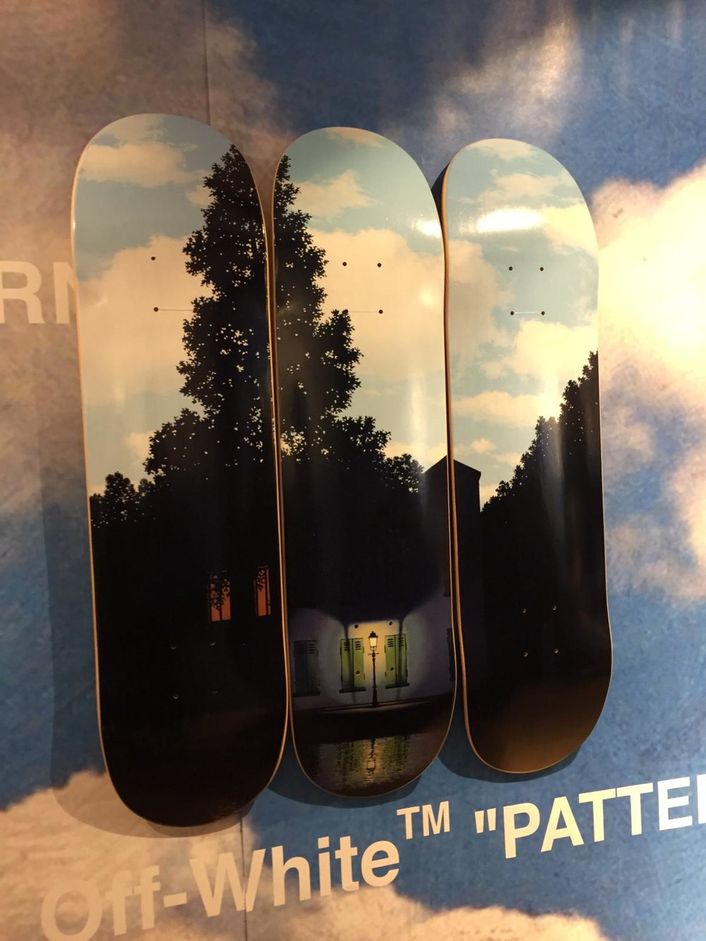(Decks not for sale)