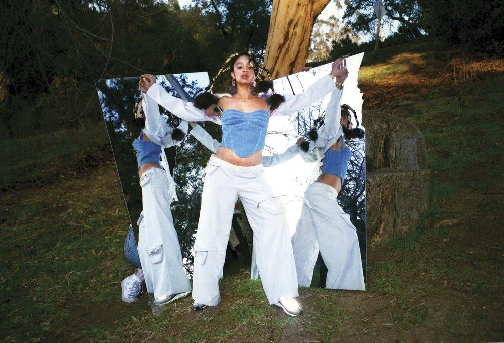 Kelsey Lu for No Sesso by Nazuk Kochhar for  The Fader