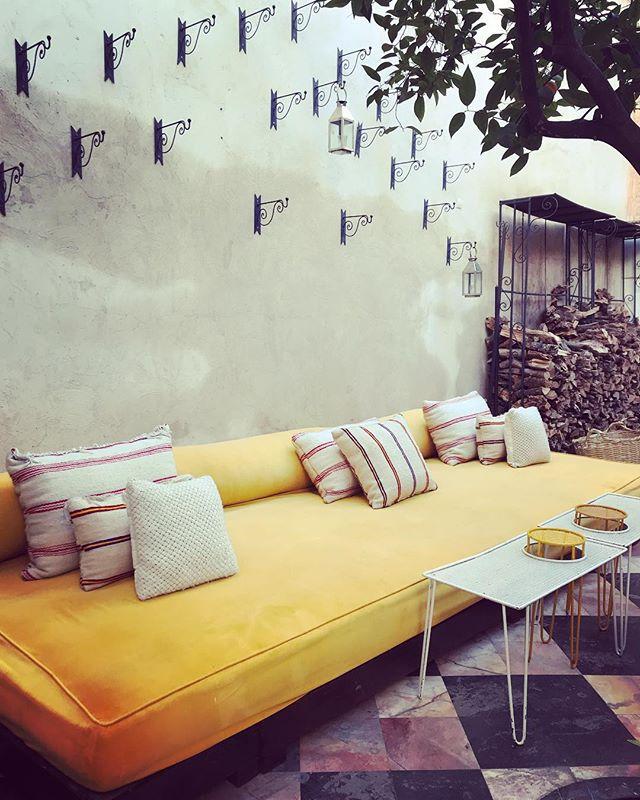 Dream lounge 💛 #morroco #fireandcremestyle