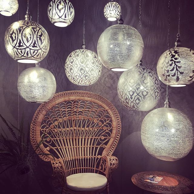 Magical lanterns 🌟🌟 #maisonetobjet2018 #fireandcremerentals