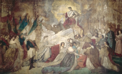 Thomas Couture, The Baptism of the Prince Imperial, Musée national du Château de Compiègne.
