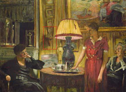 Fig. 1. Edouard Vuillard, The Visit, mixed media on canvas, 1931, National Gallery of Art, Washington, DC.