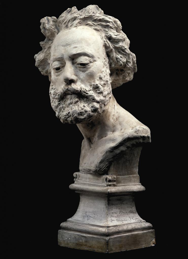 Fig. 1. Jean-Baptiste Carpeaux, Bruno Chérier, plaster, 1874-1875, Calouste Gulbenkian Museum, Lisbon