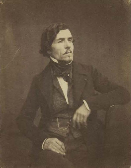 Fig. 2. Victor Laisné, Eugène Delacroix, c. 1852.