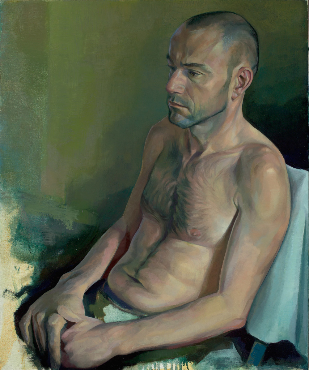 "'Carlo' 70x60cm (28""x24"") oil on linen. Private collection."