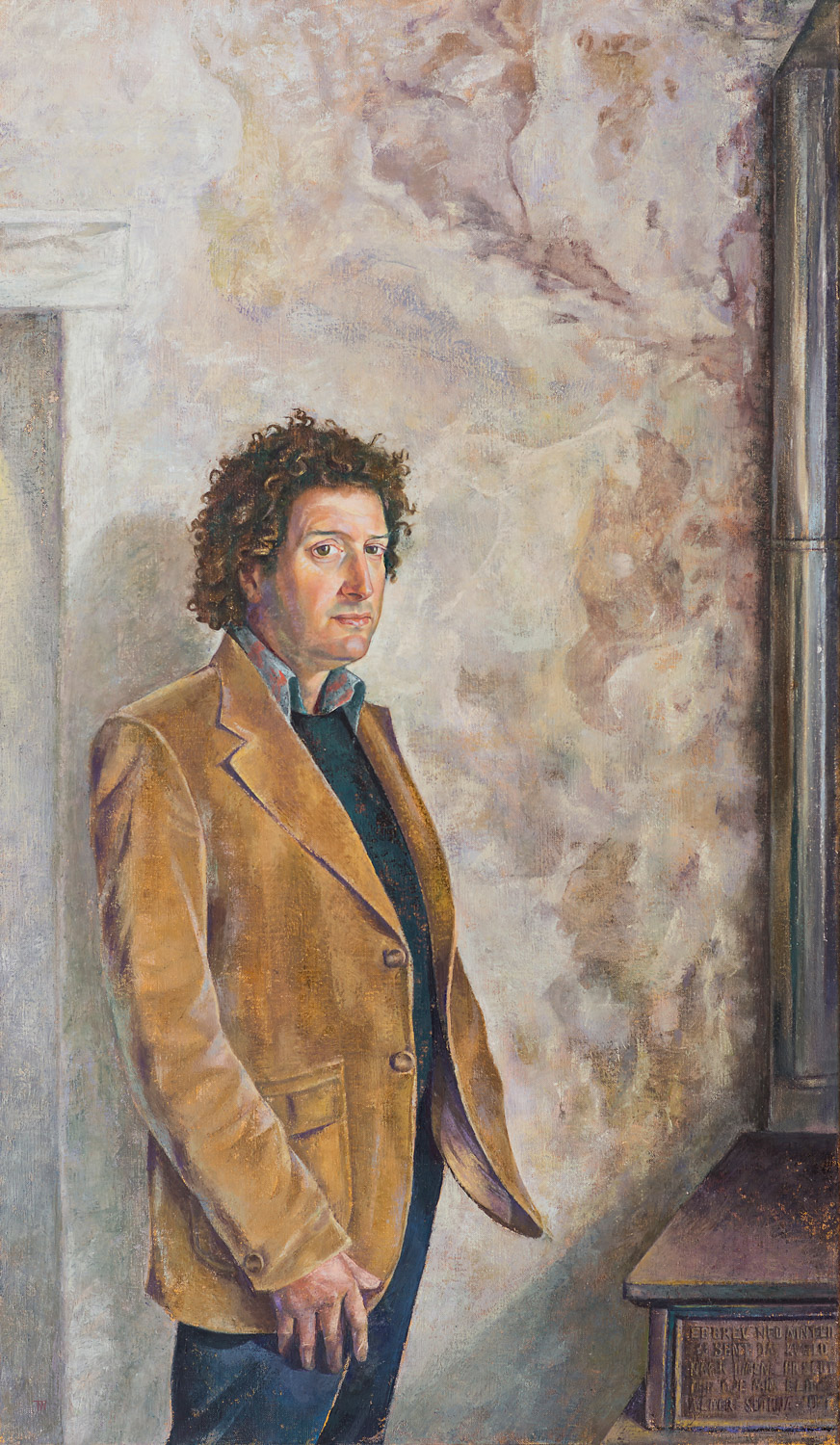 "'Guy Bamford' 135x85cm (53""x33"") oil on linen. Private collection."