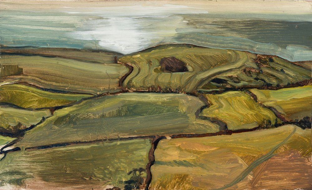 'Kimmeridge Fields and Sea'