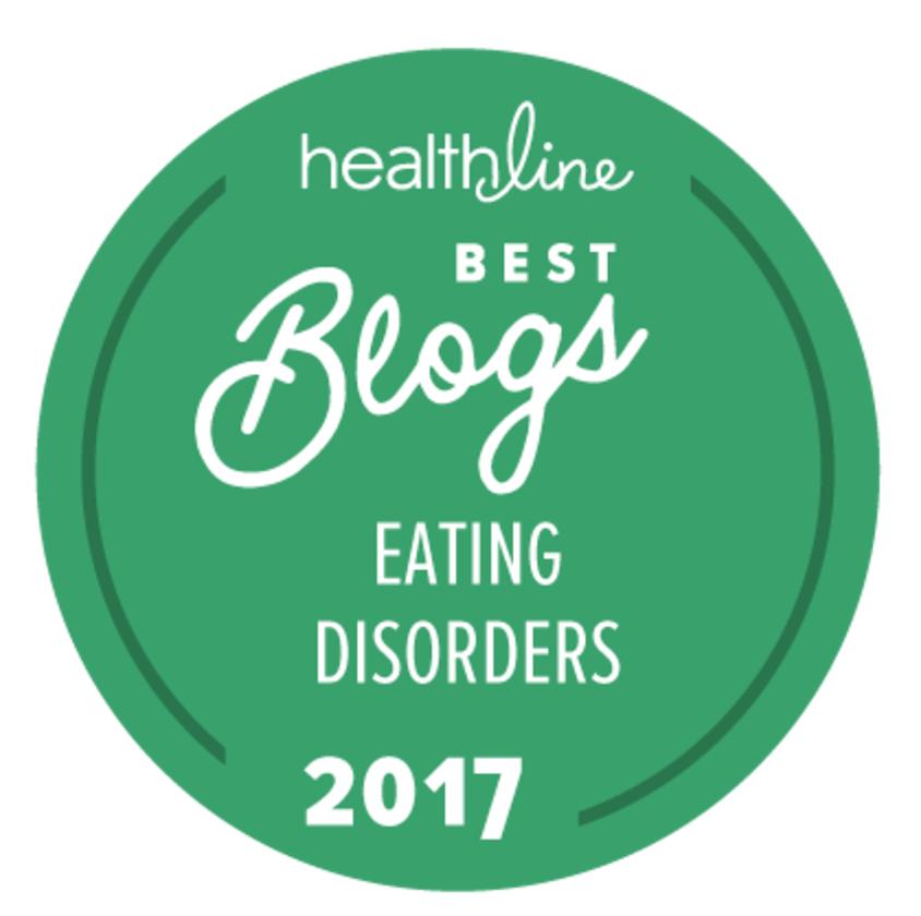 Angie Viets - Healthline Best Eating Disorders Blog 2017