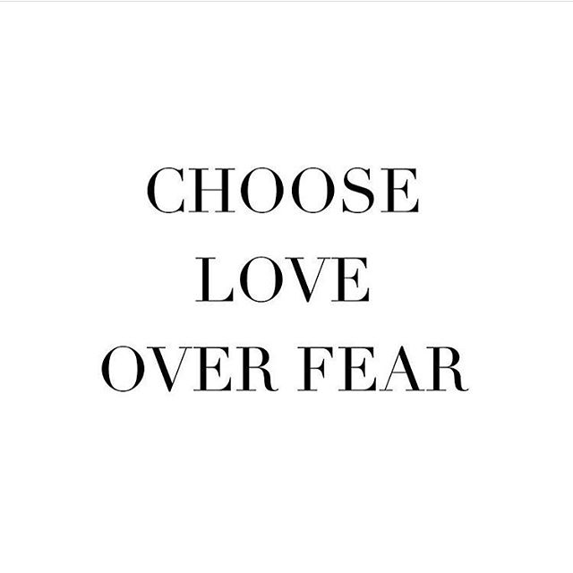 Because love is stronger than fear. Happy Valentine's Day! #valentinesday2018