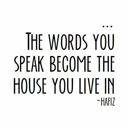 This one makes you pause. What kind of house do you want to live in? Is it authentic, real, and true or is it an empty shell haunted by secrets? Remember, we are only as sick as our secrets. Be impeccable with your word.
