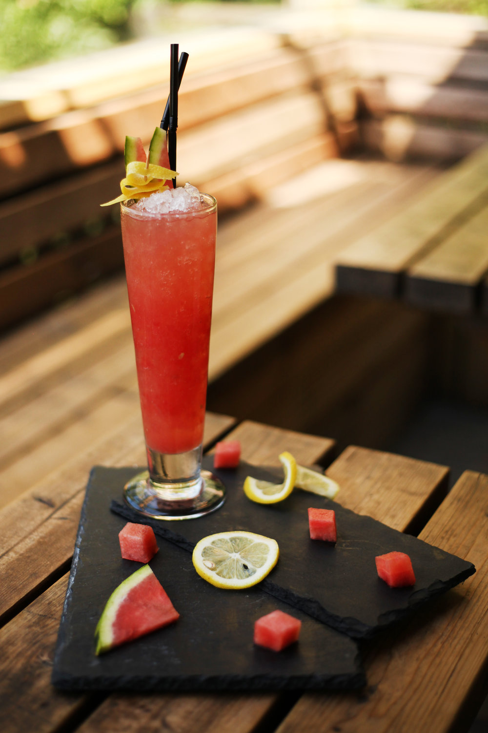 The Lighthouse in Oxford serves a variety of cocktails. Classics like the Mojito or Old Fashioned, martini mixes such as the Cosmopolitan or Madrid Sour and much more. If there's a particular cocktail you like, please do enquire with one of our bartenders, we just may be able to help.