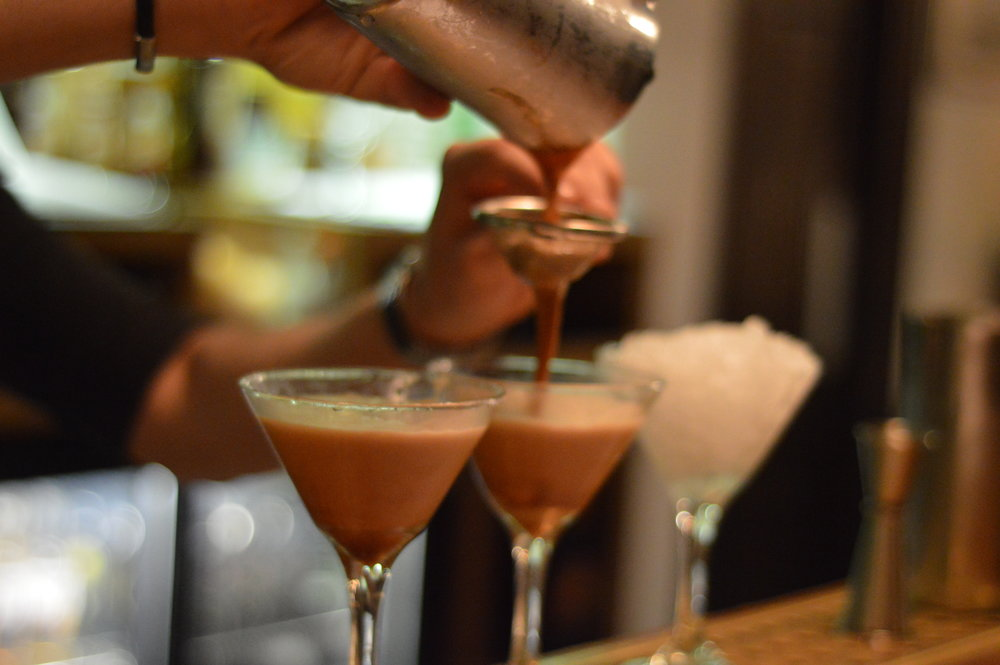 Featured Cocktail: Espresso Martini  - a firm favourite of many Lighthouse guests. After a long day at one of the many offices in Oxford's West End, a vodka-based vanilla-infused espresso cocktail is the perfect pick me up! Our bar team can even make you a variant of this famous cocktail, just ask one of our bartenders.
