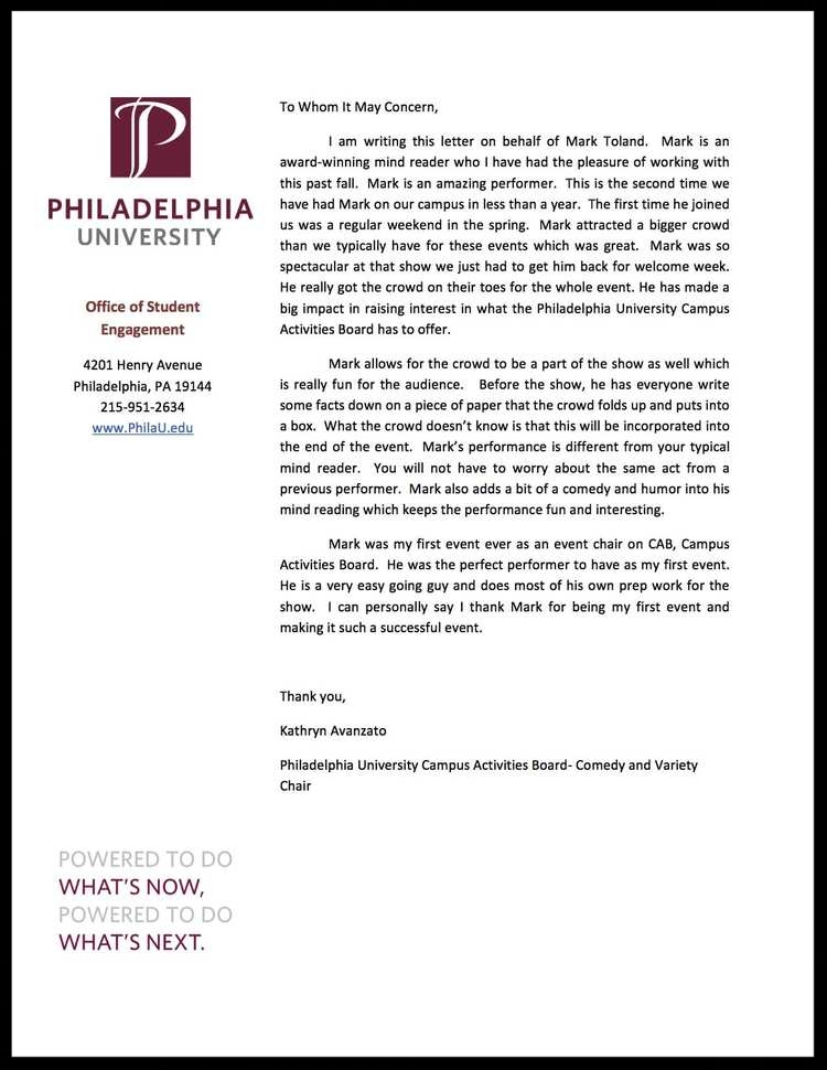 PhilaU Testimonial