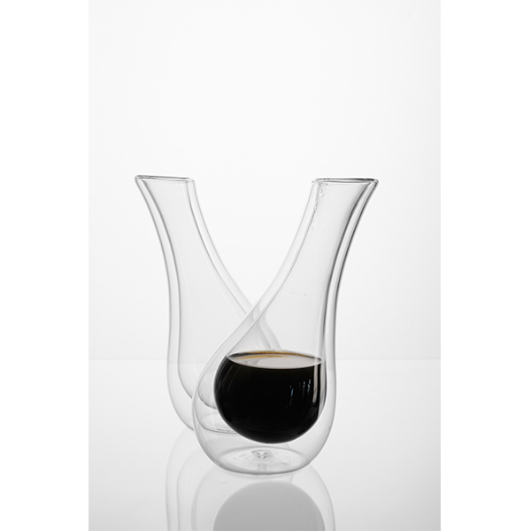Coffee glasses, Nedda El-Asmar & Erik Indekeu for Jacqmotte