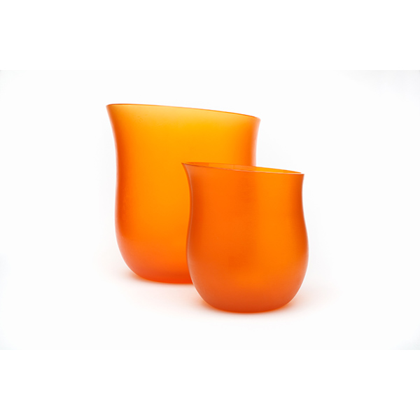 Vase Murano glass for Hermès, (c) Wolf &Wolf