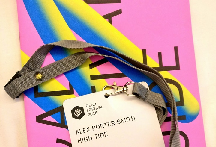 Who doesn't love a lanyard? Doubles as a reminder of creative lessons from #DANDAD18