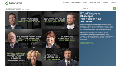 Associated Financial Group Web Site