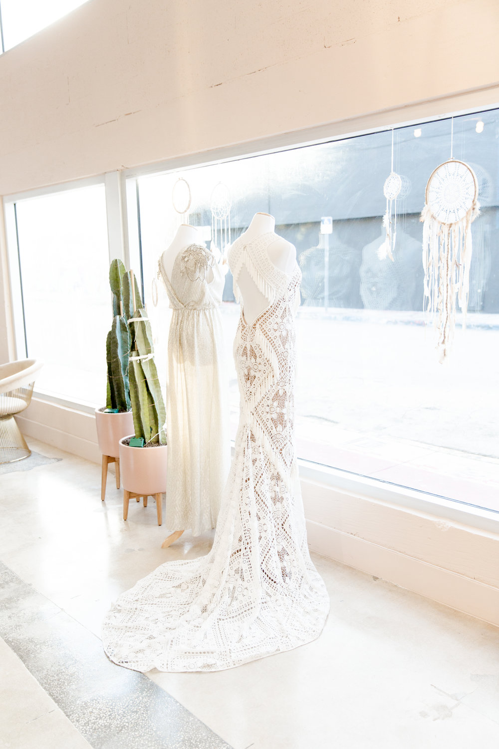 lovely BRIDE   - With locations all over the USA and a collection of designers to swoon over Lovely Bride is a must go for any bride to be. Their cozy,pink gilded and super stylish showrooms are sure to make you blush and with designers including Rue De Seine, Sarah Seven, Katie May, Limor Rosen andwith a splash of Odylyne the Ceremony magic we predict your changing room rail will be full of stunning gowns for you to enjoy and explore.