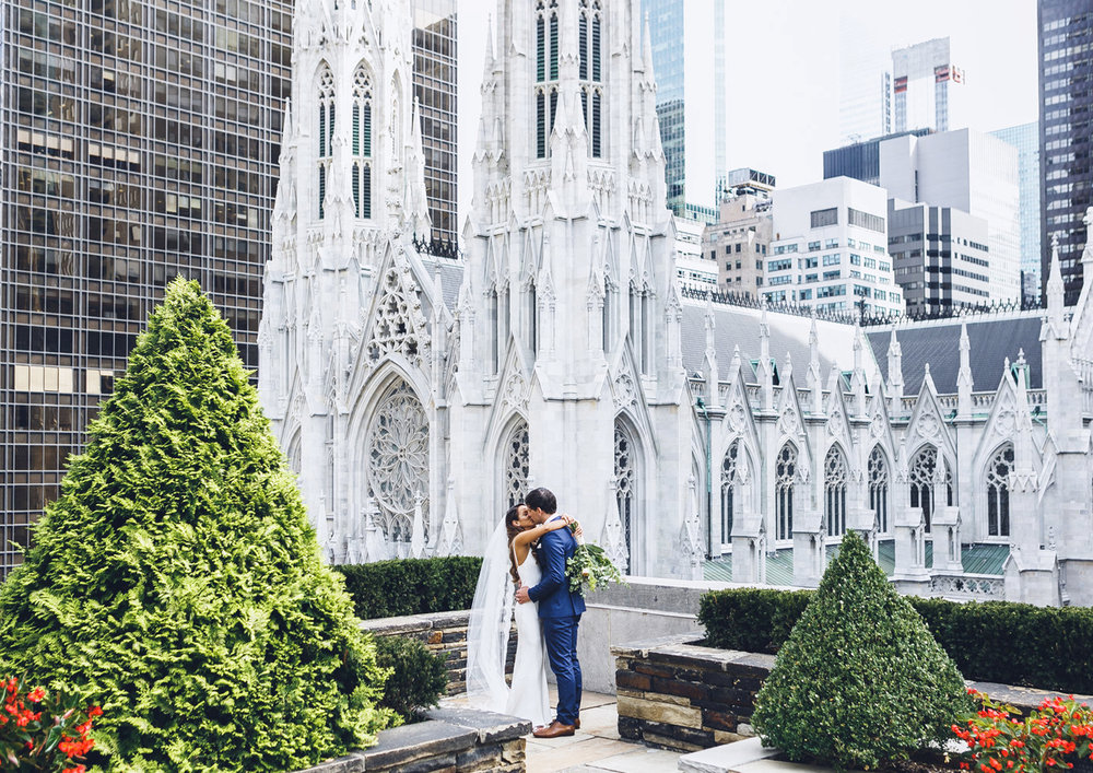 Jaimme & Brent - Prepare for a style infused celebration of love and intimacy in the bustling and vibrant heart of New York City.