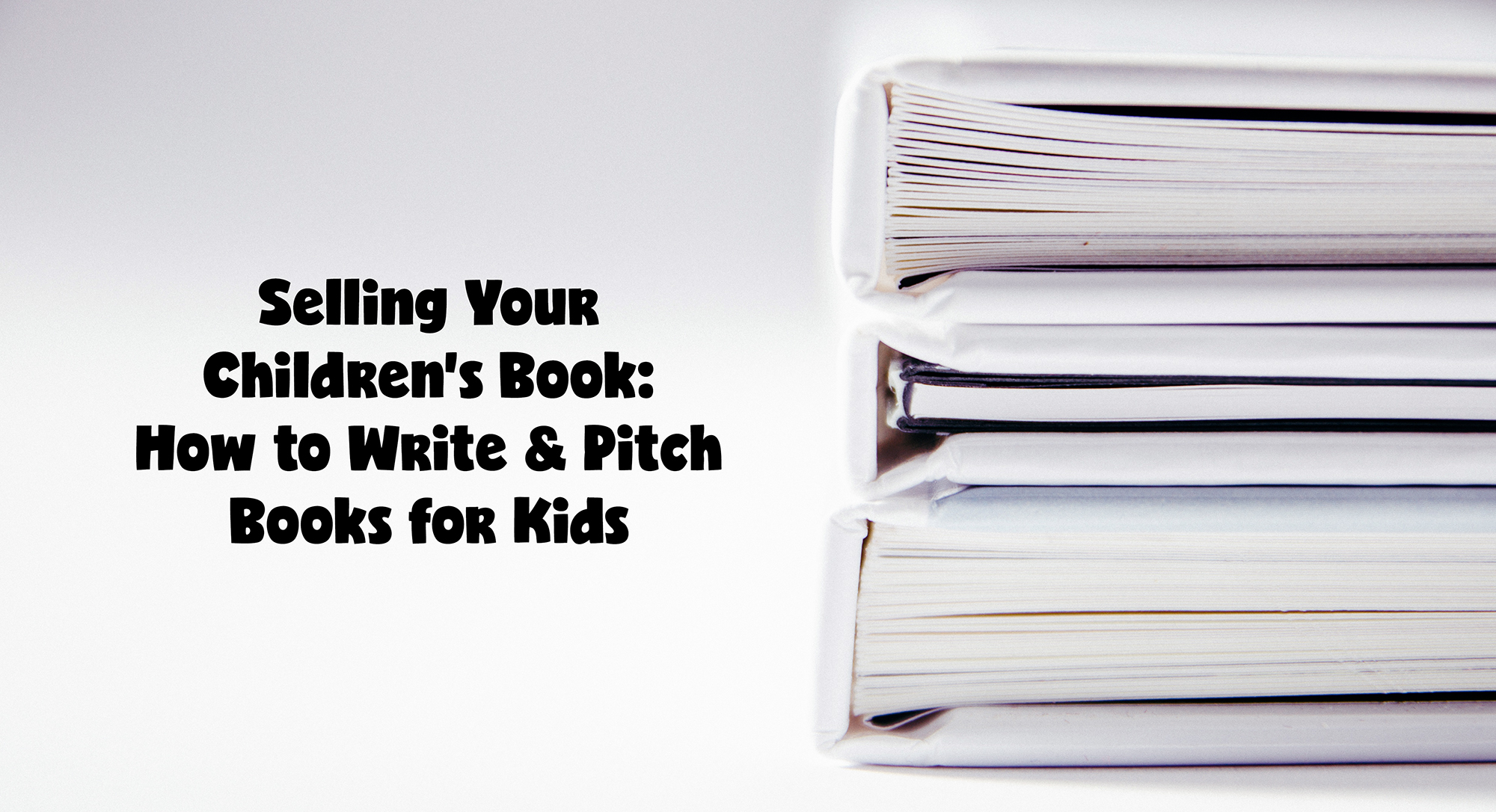 elevator pitch for childrens books